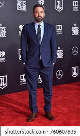 """LOS ANGELES - NOV 13:  Ben Affleck arrives for the """"Justice League"""" World Premiere on November 13, 2017 in Hollywood, CA"""