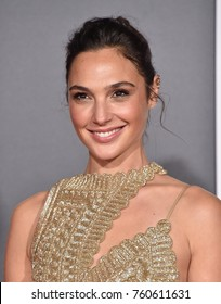 "LOS ANGELES - NOV 13:  Gal Gadot arrives for the ""Justice League"" World Premiere on November 13, 2017 in Hollywood, CA"