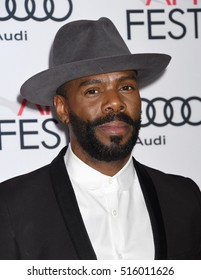 """LOS ANGELES - NOV 14:  Colman Domingo arrives to the AFI FEST 2016 """"Jackie"""" Centerpiece Gala  on November 14, 2016 in Hollywood, CA"""