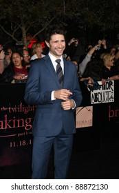 "LOS ANGELES - NOV 14:  Matt Dallas arrives at the ""Twilight: Breaking Dawn Part 1"" World Premiere at Nokia Theater at LA LIve on November 14, 2011 in Los Angeles, CA"