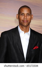 """LOS ANGELES - NOV 14:  Reggie Miller arrives at the """"Tangled"""" World Premiere at El Capitan Theater on November 14, 2010 in Los Angeles, CA"""