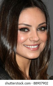 LOS ANGELES - NOV 15:  Mila Kunis  at the Jaguar Pre LA Car Show Event at Two Rodeo on November 15, 2011 in Beverly Hills, CA
