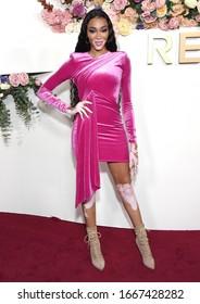 LOS ANGELES - NOV 15:  Winnie Harlow arrives for the 2019 REVOLVE Awards on November 15, 2019 in Los Angeles, CA