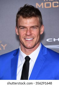 """LOS ANGELES - NOV 16:  Alan Ritchson arrives to the """"The Hunger Games: Mocking Jay - Part 2"""" Los Angeles Premiere  on November 16, 2015 in Los Angeles, CA."""