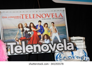 """LOS ANGELES - NOV 17:  Telenovela Poster at the Press Junket For NBC's """"Telenovela"""" And """"Superstore"""" at the Universal Studios on November 17, 2015 in Los Angeles, CA"""