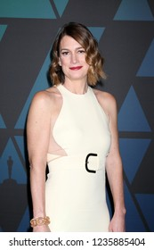 LOS ANGELES - NOV 18:  Gillian Flynn at the 10th Annual Governors Awards at the Ray Dolby Ballroom on November 18, 2018 in Los Angeles, CA