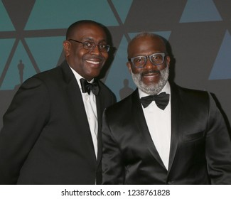 LOS ANGELES - NOV 18:  Guest, Bebe Winans at the 10th Annual Governors Awards at the Ray Dolby Ballroom on November 18, 2018 in Los Angeles, CA