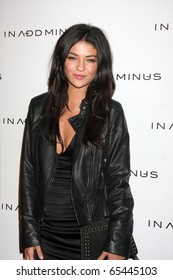"""LOS ANGELES - NOV 18:  Jessica Szohr arrives at the """"In Add Minus"""" LA Store Launch Party at 5900 Wishire Blvd on November 18, 2010 in Los Angeles, CA"""