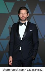 LOS ANGELES - NOV 18:  John Krasinski at the 10th Annual Governors Awards at the Ray Dolby Ballroom on November 18, 2018 in Los Angeles, CA