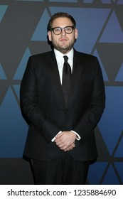 LOS ANGELES - NOV 18:  Jonah Hill at the 10th Annual Governors Awards at the Ray Dolby Ballroom on November 18, 2018 in Los Angeles, CA