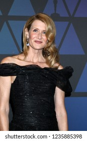 LOS ANGELES - NOV 18:  Laura Dern at the 10th Annual Governors Awards at the Ray Dolby Ballroom on November 18, 2018 in Los Angeles, CA