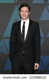 LOS ANGELES - NOV 18:  Topher Grace at the 10th Annual Governors Awards at the Ray Dolby Ballroom on November 18, 2018 in Los Angeles, CA