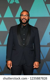 LOS ANGELES - NOV 18:  Tyler Perry at the 10th Annual Governors Awards at the Ray Dolby Ballroom on November 18, 2018 in Los Angeles, CA