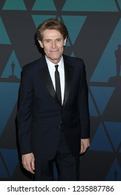 LOS ANGELES - NOV 18:  Willem Dafoe at the 10th Annual Governors Awards at the Ray Dolby Ballroom on November 18, 2018 in Los Angeles, CA