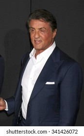 "LOS ANGELES - NOV 19:  Sylvester Stallone at the ""Creed"" Los Angeles Premiere at the Village Theater on November 19, 2015 in Westwood, CA"
