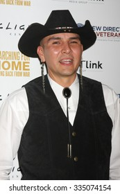 """LOS ANGELES - NOV 2:  Apache Jay Nesahkluah at the """"Searching for Home: Coming Back From War"""" Premiere Screening Event at the ArcLight Theaters on November 2, 2015 in Sherman Oaks, CA"""