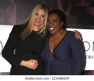 LOS ANGELES - NOV 2:  Mira Sorvino, Tarana Burke at the Power Women Summit - Friday at the InterContinental Los Angeles on November 2, 2018 in Los Angeles, CA