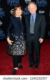 "LOS ANGELES - NOV 29:  Ina Garten, Jeffrey Garten at the ""Mary Poppins Returns"" Premiere at the El Capitan Theatre on November 29, 2018 in Los Angeles, CA"