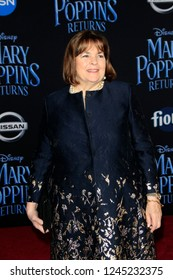 "LOS ANGELES - NOV 29:  Ina Garten at the ""Mary Poppins Returns"" Premiere at the El Capitan Theatre on November 29, 2018 in Los Angeles, CA"