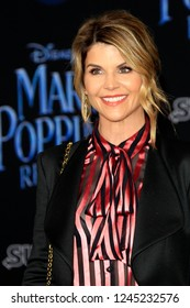 "LOS ANGELES - NOV 29:  Lori Loughlin at the ""Mary Poppins Returns"" Premiere at the El Capitan Theatre on November 29, 2018 in Los Angeles, CA"