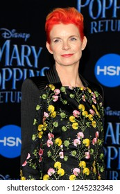 "LOS ANGELES - NOV 29:  Sandy Powell at the ""Mary Poppins Returns"" Premiere at the El Capitan Theatre on November 29, 2018 in Los Angeles, CA"