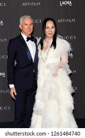 LOS ANGELES - NOV 3:  Baz Luhrmann, Eva Chow at the 2018 LACMA: Art and Film Gala at the Los Angeles County Musem of Art on November 3, 2018 in Los Angeles, CA
