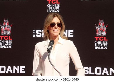 LOS ANGELES - NOV 3:  Kathryn Bigelow at the Jessica Chastain Hand and Foot Print Ceremony at TCL Chinese Theater IMAX on November 3, 2016 in Los Angeles, CA