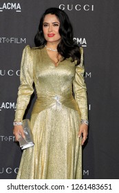 LOS ANGELES - NOV 3:  Salma Hayek at the 2018 LACMA: Art and Film Gala at the Los Angeles County Musem of Art on November 3, 2018 in Los Angeles, CA