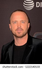 "LOS ANGELES - NOV 4:  Aaron Paul at the ""Welcome Home"" L.A. Premiere at the The London West Hollywood on November 4, 2018 in West Hollywood, CA"