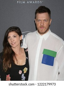 LOS ANGELES - NOV 4:  Aja Volkman, Dan Reynolds at the Hollywood Film Awards 2018 at the Beverly Hilton Hotel on November 4, 2018 in Beverly Hills, CA