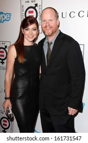 LOS ANGELES - NOV 4:  Alyson Hannigan, Joss Whedon at the Equality Now Presents Make Equality Reality at Montage Hotel on November 4, 2013 in Beverly Hills, CA