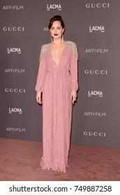 LOS ANGELES - NOV 4:  Dakota Johnson at the LACMA: Art and Film Gala at the Los Angeles County Musem of Art on November 4, 2017 in Los Angeles, CA