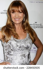 "LOS ANGELES - NOV 4:  Jane Seymour at the Hallmark Channel's ""Northpole"" Screening Reception at the  La Piazza Restaurant  at The Grove on November 4, 2014 in Los Angeles, CA"