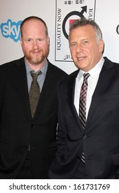 LOS ANGELES - NOV 4:  Joss Whedon, Paul Reiser at the Equality Now Presents Make Equality Reality at Montage Hotel on November 4, 2013 in Beverly Hills, CA