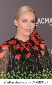 LOS ANGELES - NOV 4:  Lindsey Vonn at the LACMA: Art and Film Gala at the Los Angeles County Musem of Art on November 4, 2017 in Los Angeles, CA