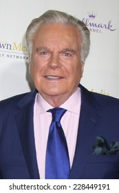 "LOS ANGELES - NOV 4:  Robert Wagner at the Hallmark Channel's ""Northpole"" Screening Reception at the  La Piazza Restaurant  at The Grove on November 4, 2014 in Los Angeles, CA"