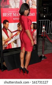 """LOS ANGELES - NOV 5:  Angell Conwell at the """"The Best Man Holiday"""" World Premiere at TCL Chinese Theater on November 5, 2013 in Los Angeles, CA"""