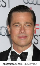 """LOS ANGELES - NOV 5:  Brad Pitt at the AFI FEST 2015 Presented By Audi Opening Night Gala Premiere of """"By The Sea"""" at the TCL Chinese Theater on November 5, 2015 in Los Angeles, CA"""