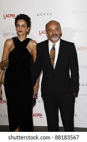 LOS ANGELES - NOV 5: Christian Louboutin at the LACMA Art + Film Gala on November 5, 2011 in Los Angeles, California