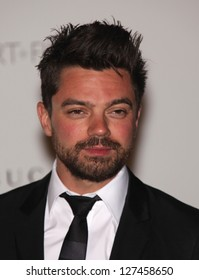 LOS ANGELES - NOV 5:  DOMINIC COOPER arriving to LACMA hosts Art + Film Gala 2011  on November 5, 2011 in Los Angeles, CA