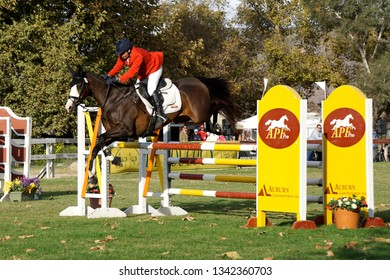 LOS ANGELES - NOV 5: Equestrian activities at the LeAnn Rimes concert at Galway Downs on November 5, 2017 in Temecula, California