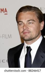 LOS ANGELES - NOV 5:  Leonardo DiCaprio arrives at the LACMA Art + Film Gala at LA County Museum of Art on November 5, 2011 in Los Angeles, CA