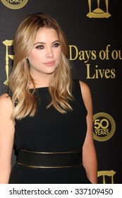 LOS ANGELES - NOV 7:  Ashley Benson at the Days of Our Lives 50th Anniversary Party at the Hollywood Palladium on November 7, 2015 in Los Angeles, CA