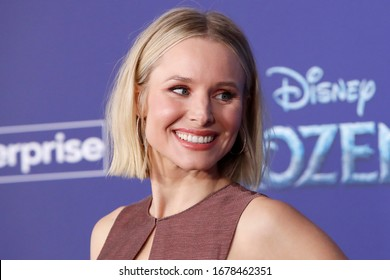 """LOS ANGELES - NOV 7:  Kristen Bell at the """"Frozen 2""""  LA Premiere at the Dolby Theater on November 7, 2019 in Los Angeles, CA"""