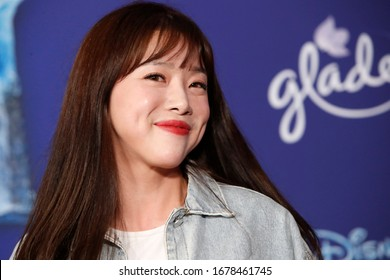 "LOS ANGELES - NOV 7:  Seul-Gi An at the ""Frozen 2""  LA Premiere at the Dolby Theater on November 7, 2019 in Los Angeles, CA"