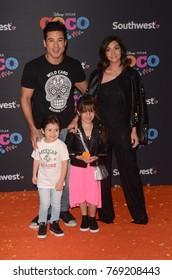 """LOS ANGELES - NOV 8:  Mario Lopez at the """"Coco"""" Premiere at the El Capitan Theater on November 8, 2017 in Los Angeles, CA"""