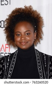 """LOS ANGELES - NOV 9:  Dee Rees at the """"Mudbound"""" Opening Gala of AFI Fest 2017 at the TCL Chinese Theater IMAX on November 9, 2017 in Los Angeles, CA"""