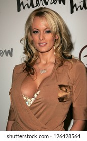 """LOS ANGELES - NOVEMBER 02: Stormy Daniels at the Grand Opening of """"An Original Penguin"""" Nobember 02, 2006 in Los Angeles, CA."""