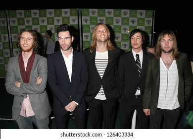 LOS ANGELES - NOVEMBER 08: Maroon 5 at the 16th Annual Environmental Media Association Awards at Wilshire Ebell Theatre November 08, 2006 in Los Angeles