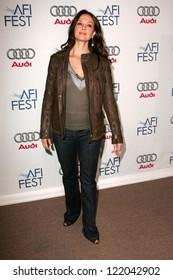 "LOS ANGELES - NOVEMBER 11: Ashley Judd at the AFI fest 2006 Screening of ""Bug"" in AFI Fest Village on November 11, 2006 in Hollywood, CA."